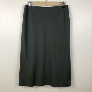 Banana Republic Wool Blend Pull On Career Skirt